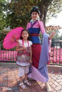 Mulan en Dochter