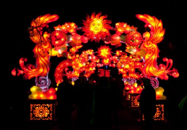 Confucius-cina light festival 2012