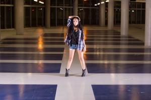 Garage Fashion shoot Samantha