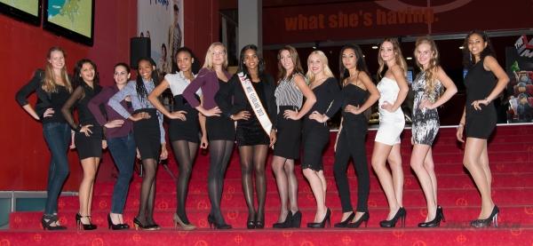 Finalisten van de Miss Almere verkiezingen 2014