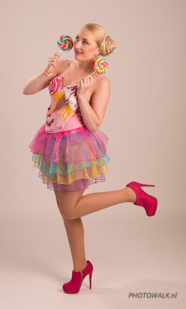 Model Marina, Visagie Sylvia (Visagie Hair Nails Sylvia Bolkenstijn)